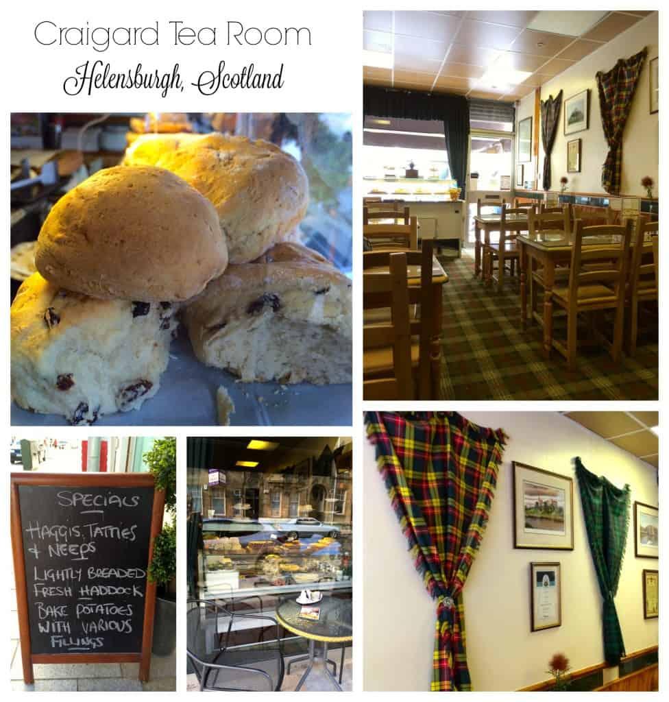 Craigard Tea Room, Helensburgh, Scotland