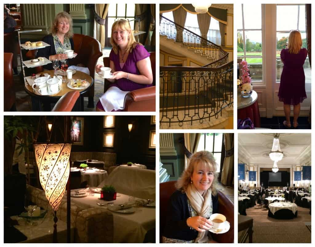 Lovely afternoon tea at Gleneagles Hotel