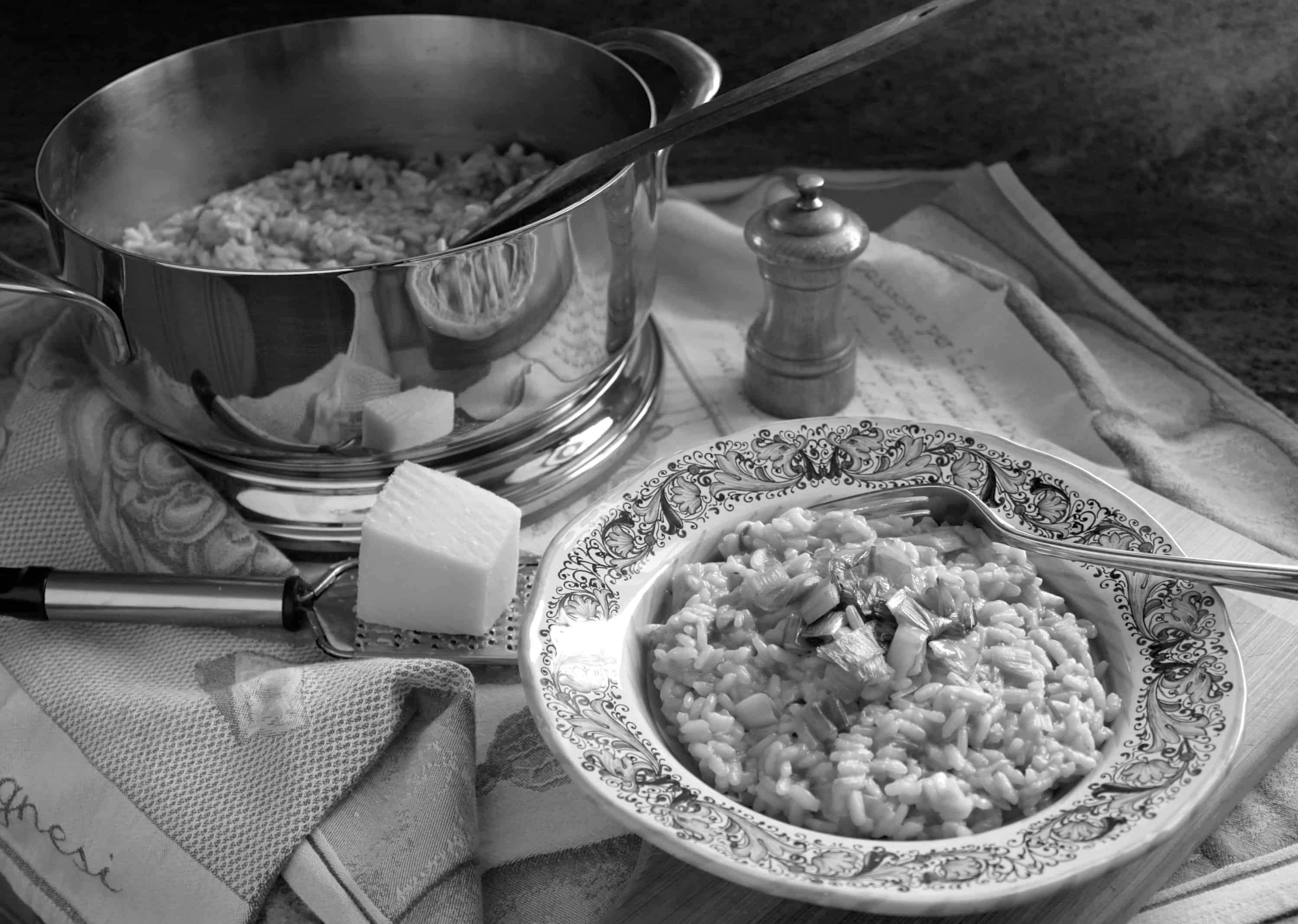 Lagostina review photo Risotto pot with risotto in a bowl