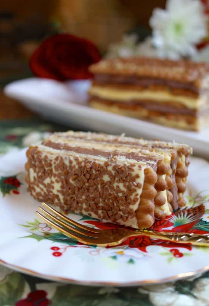 Slice of Zuppa Inglese
