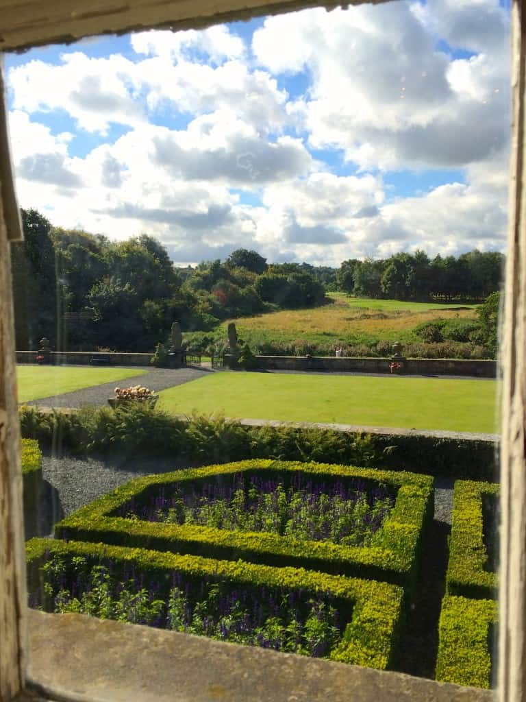 View from the Pollok House in Glasgow, Scotland