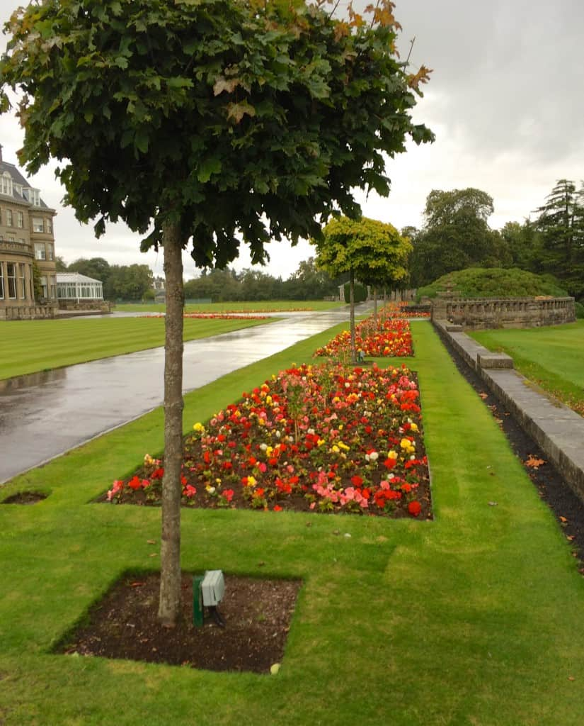 Lansdscaping at Gleneagles Hotel