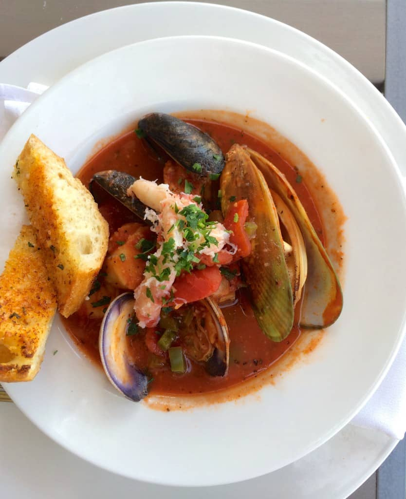 Cioppino at Bluewater Grill