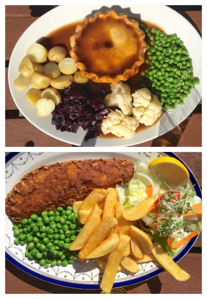 Pub Lunches at Three Oaks Pub
