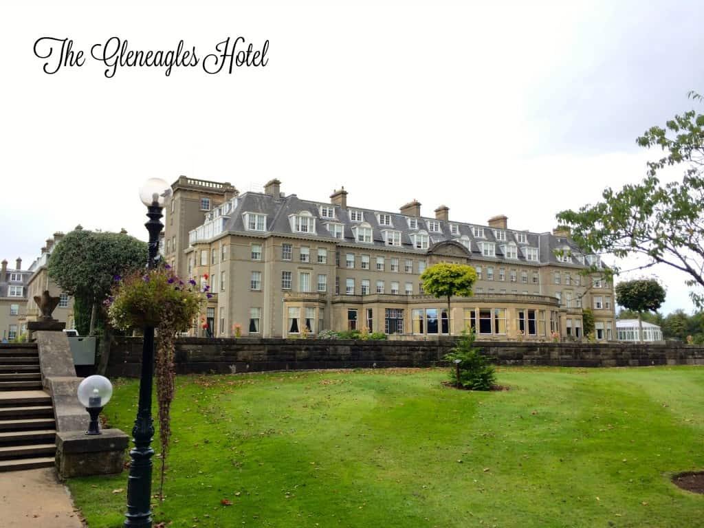 The Luxurious Gleneagles Hotel