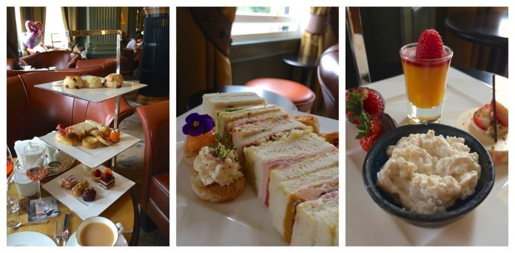 Afternoon tea treats at Gleneagles Hotel