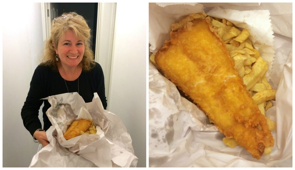 British fish and chips!