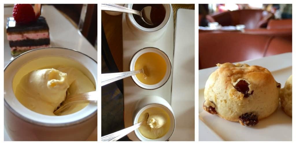 Scones and cream at Gleneagles