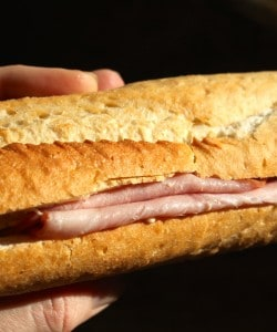 Simplest is Best: French Ham and Butter Baguette Sandwich (Jambon Beurre)