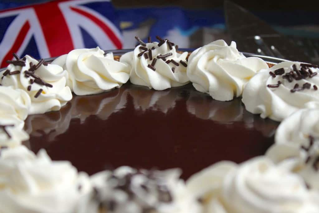 Chocolate Banoffee Pie reflection