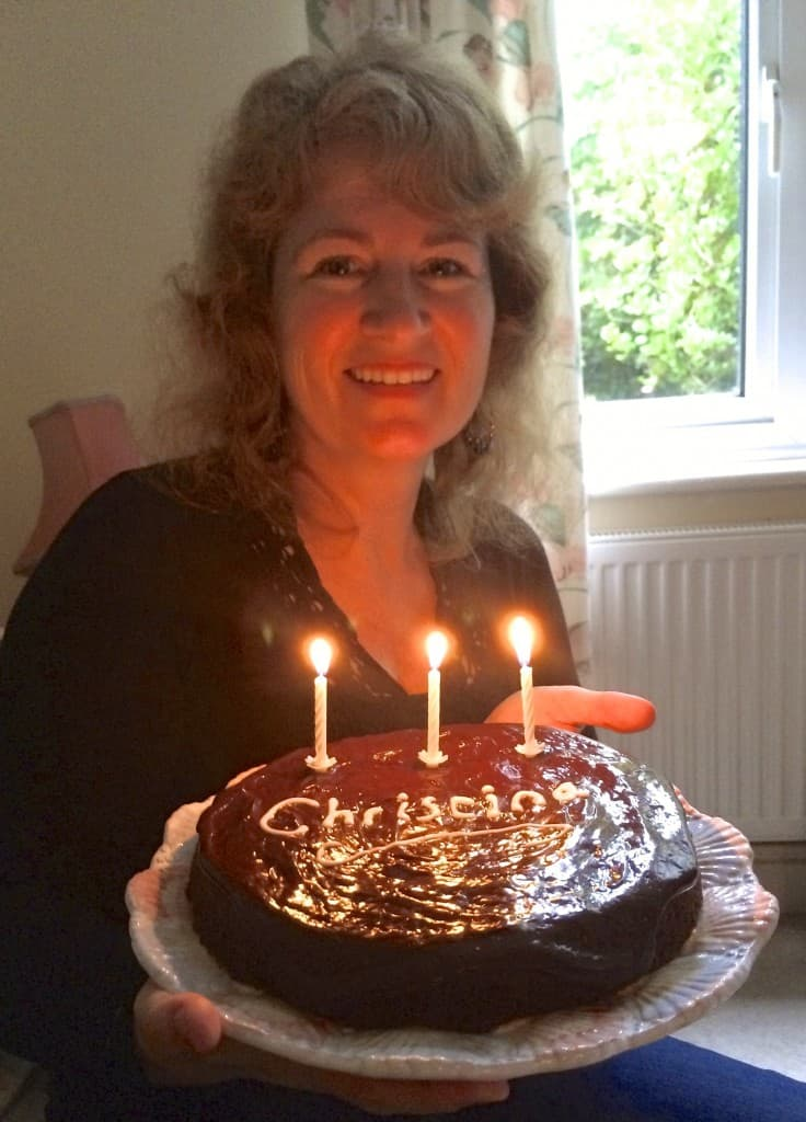 Christina's birthday cake