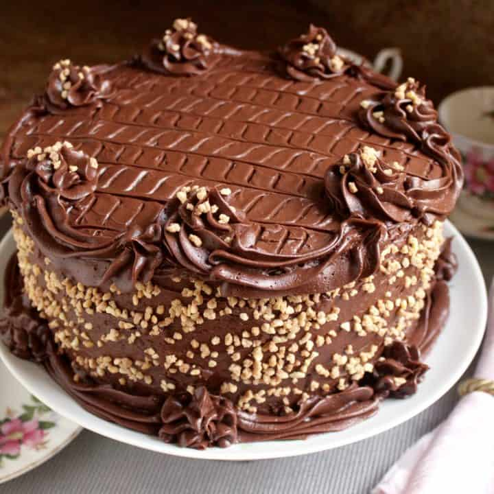 The Very Best, Most Delicious and Moist Chocolate Cake You\'ll Ever Taste  (with a Surprise ...