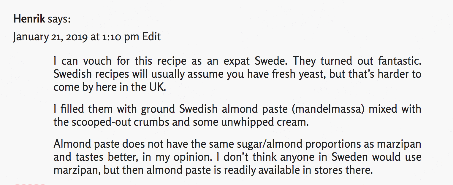 review by expat Swede