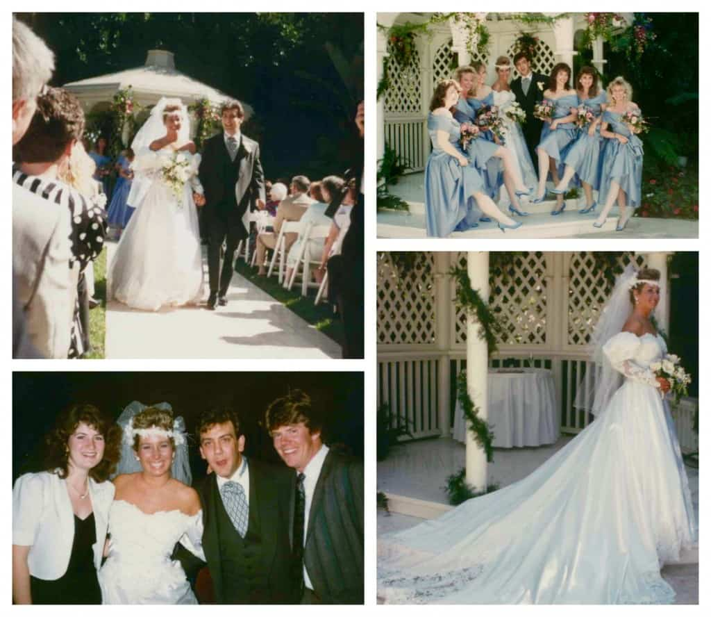 Wedding at the Fairmont 1990