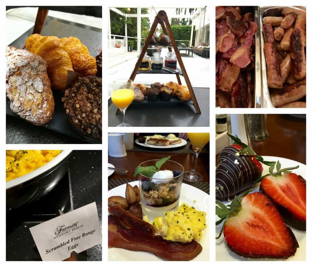 Fairmont Newport Beach breakfast