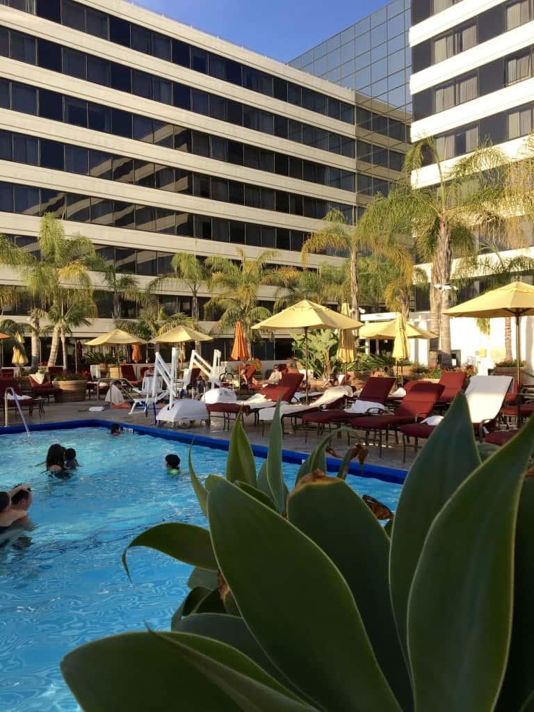 Fairmont Newport Beach pool