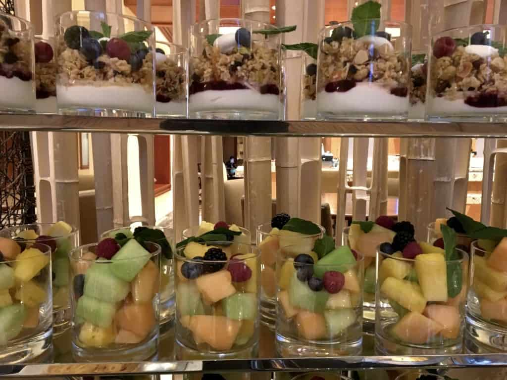 Fairmont Newport Beach breakfast buffet choices