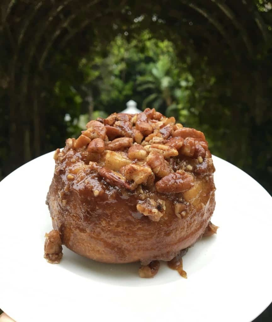 Pecan roll from The Fairmont