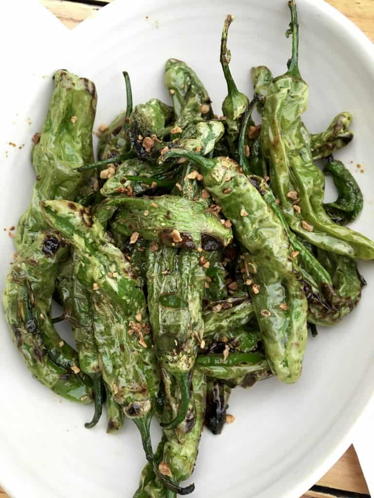 the most delicious Shishito Peppers!