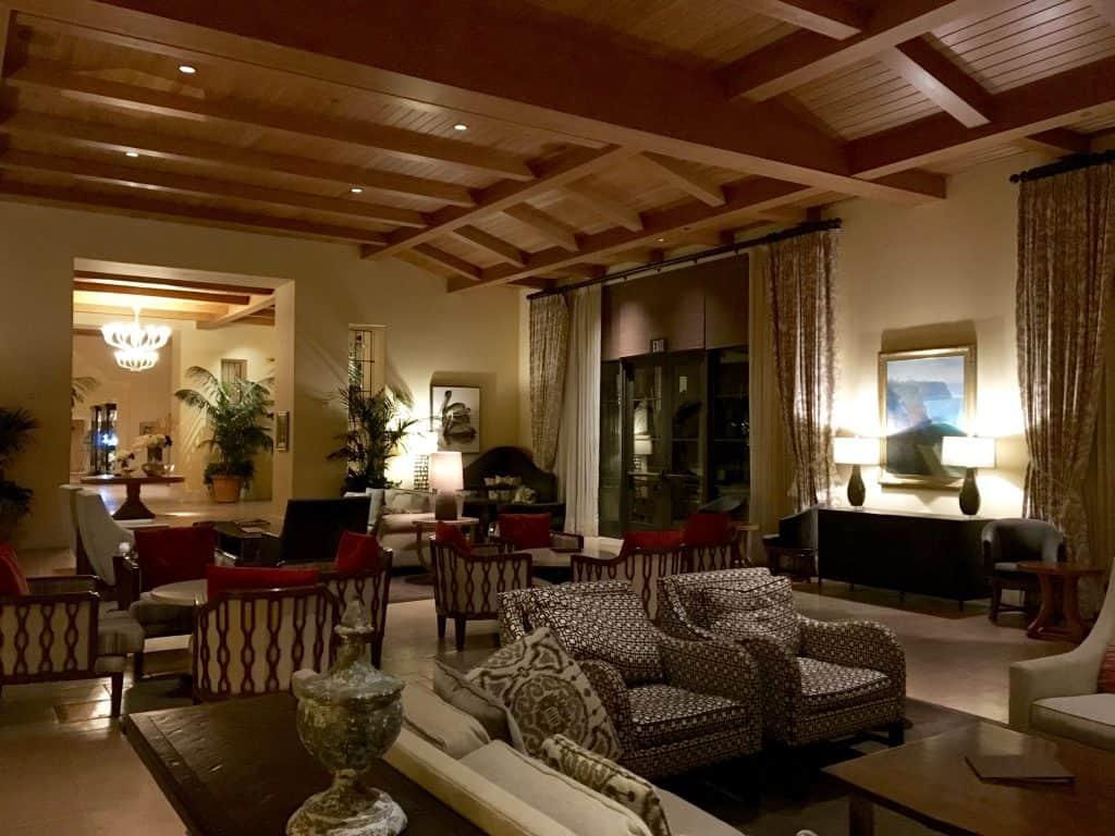 Lounge at Terranea