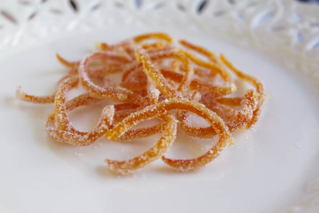Orange Boodle recipe , I'm now sharing how to make the candied peel ...