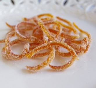 Candied Citrus Peel: Make Your Own Lemon, Orange or Grapefruit Candy and Garnish