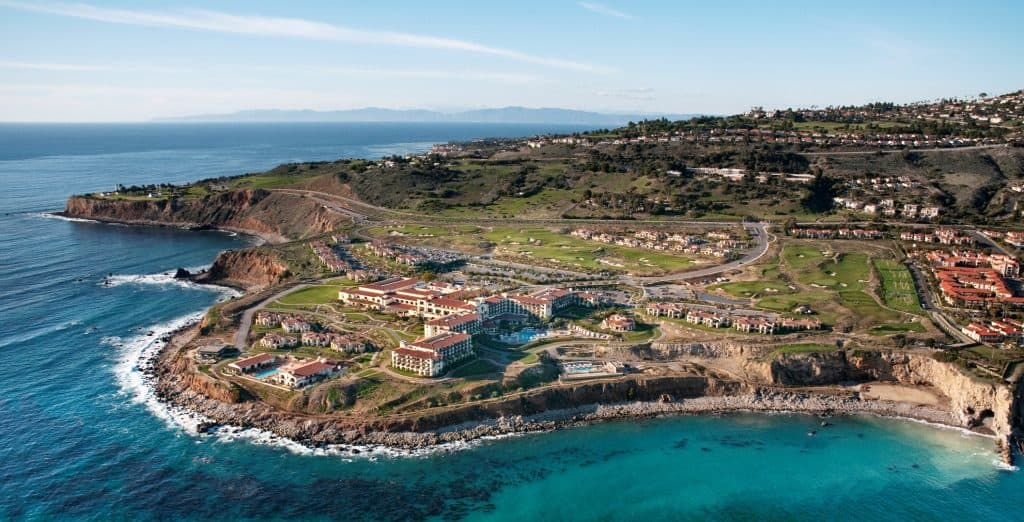 Terranea Resort - Aerial