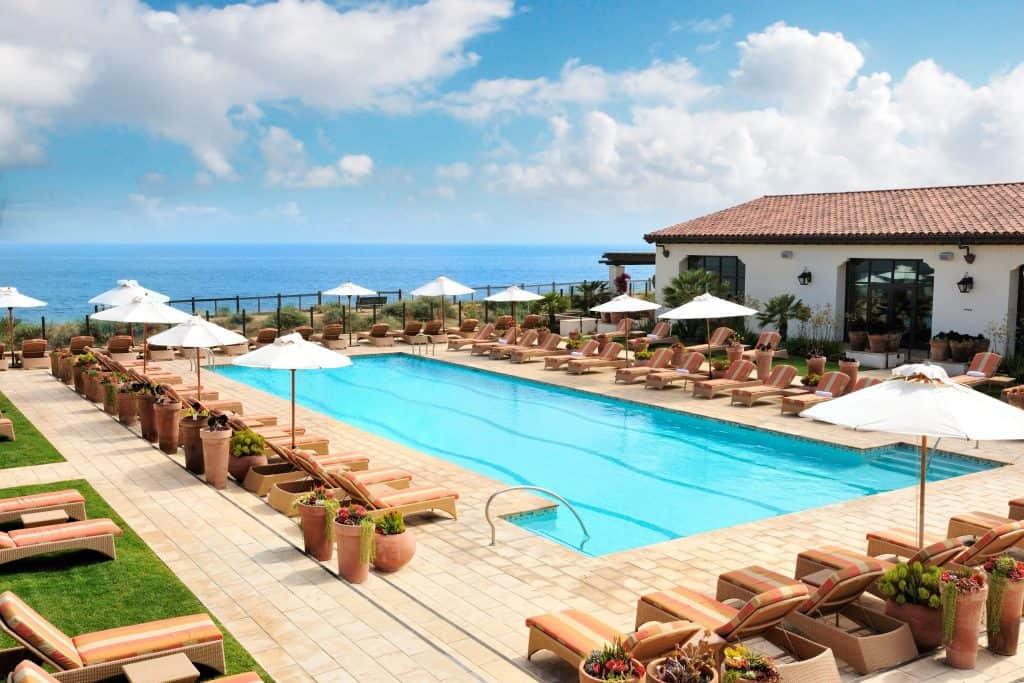 Spa at Terranea Resort in Southern California