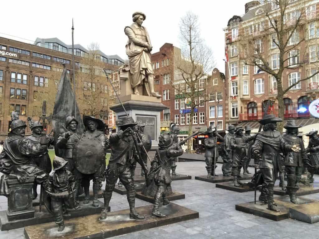 Rembrandt Square, Amsterdam, Rembrandt