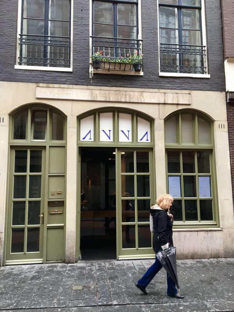 restaurant anna, amsterdam