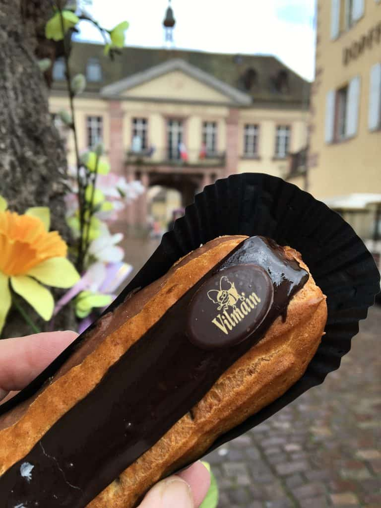 eclair in Riquewihr, France