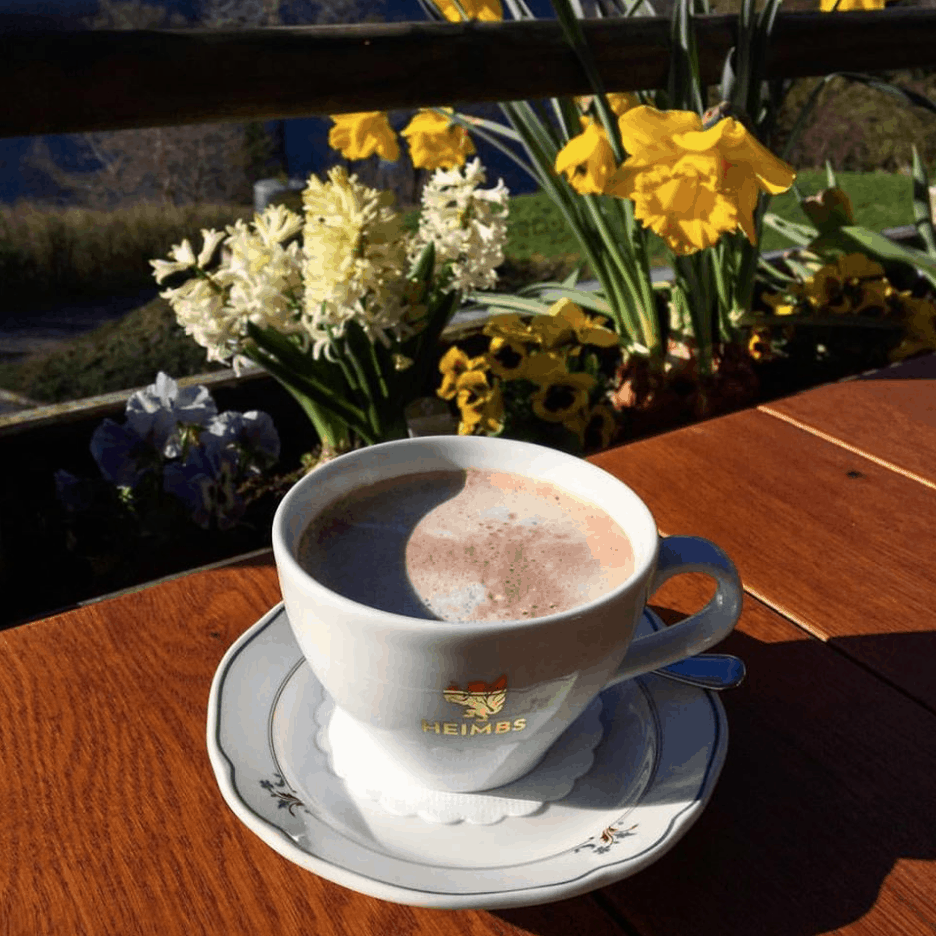 Cocoa at Hotel Alemannenhof on Lake TItisee