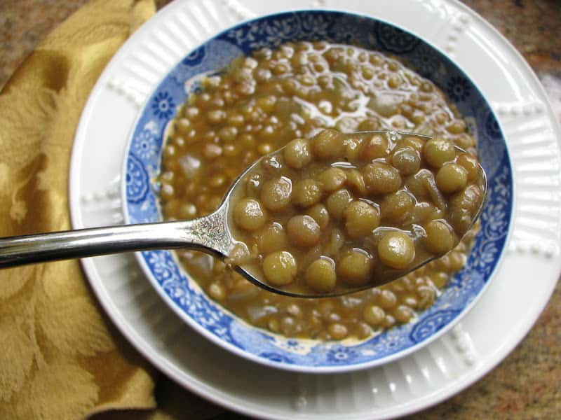 5 Minute Lentil Soup