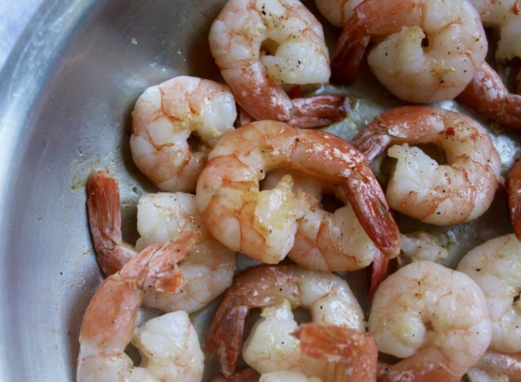 Lemon Scented Shrimp