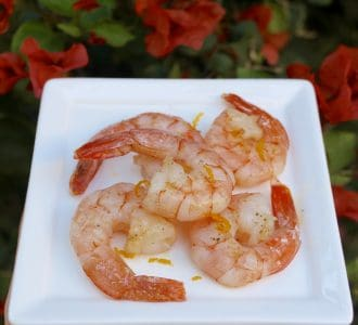 The Italian Diabetes Cookbook and a Recipe for Lemon-Scented Shrimp (Gamberi al Limone)