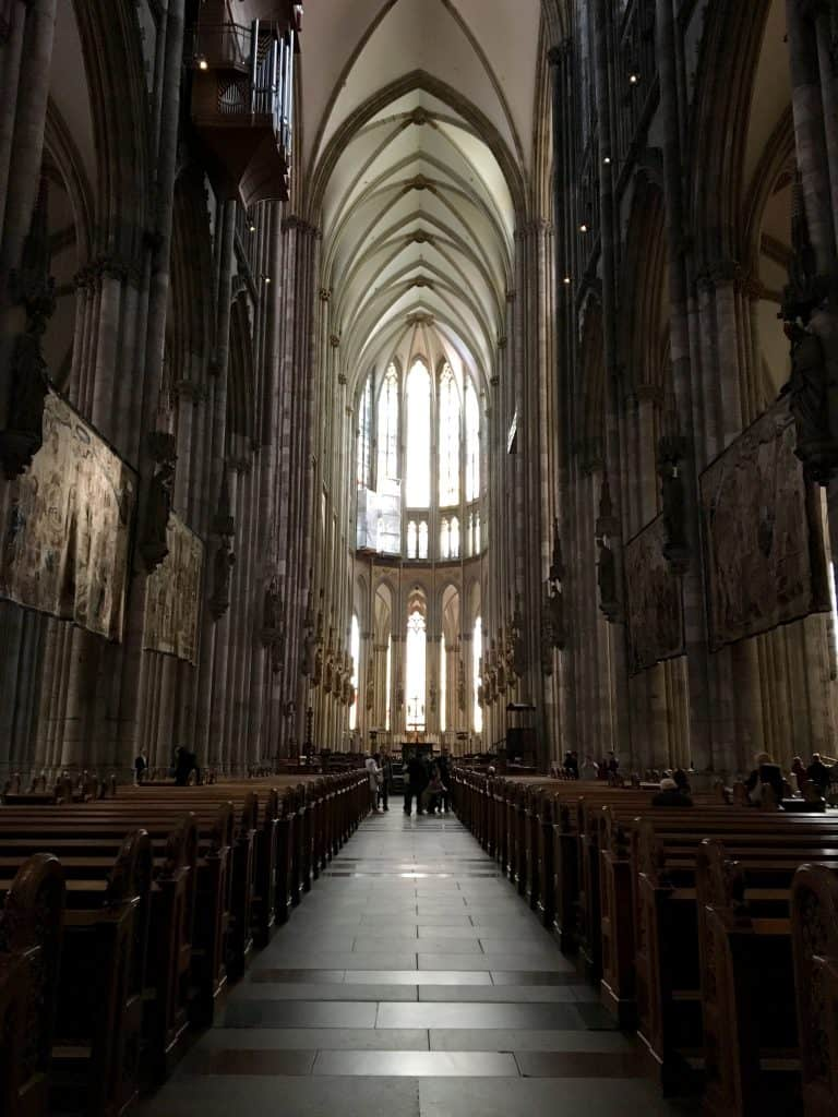 Interior of the Cologne Cathedral