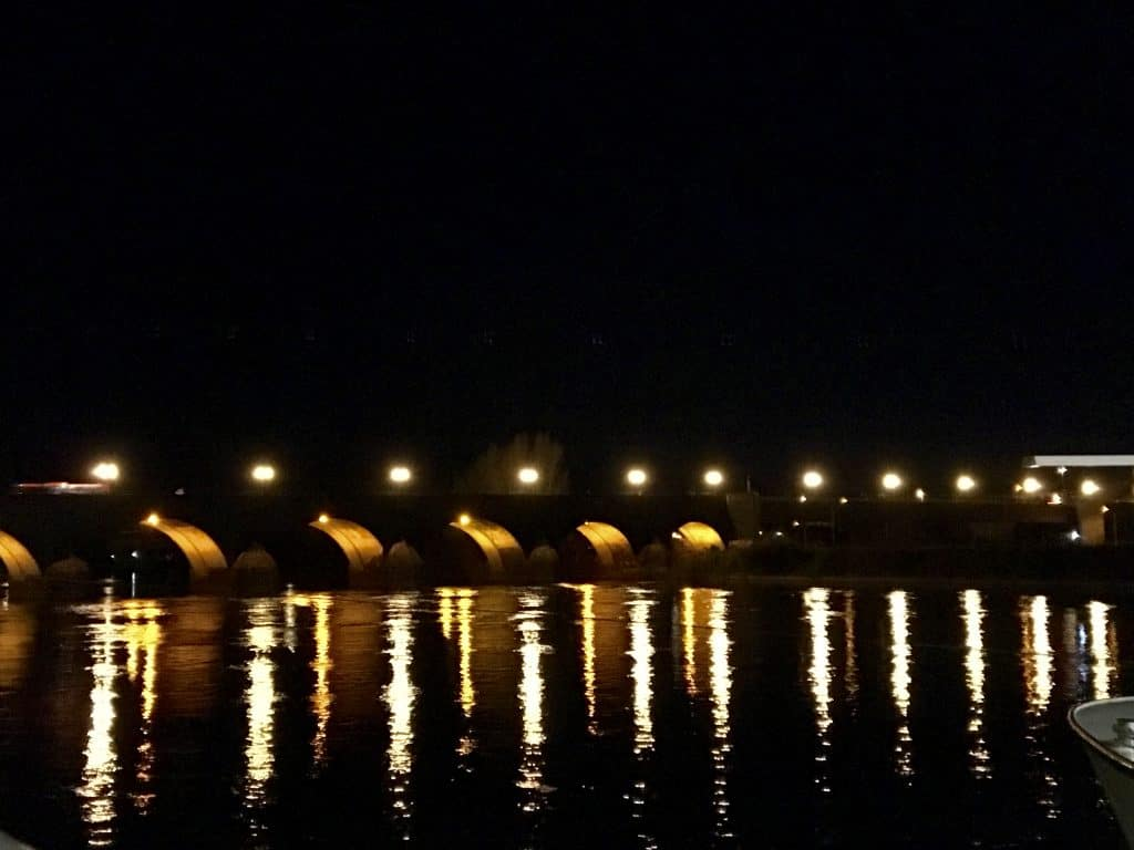 Bridge in Koblenz, Germany on the Enchanting Rhine River cruise