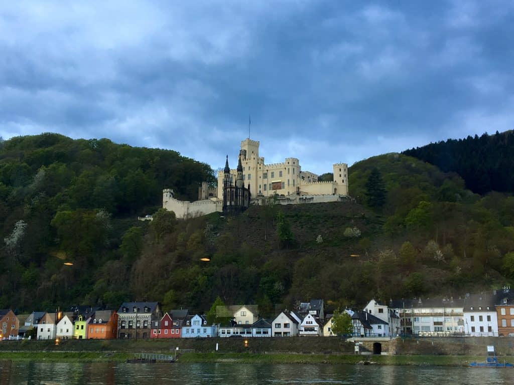 Stolzenfels Castle on the Rhine River
