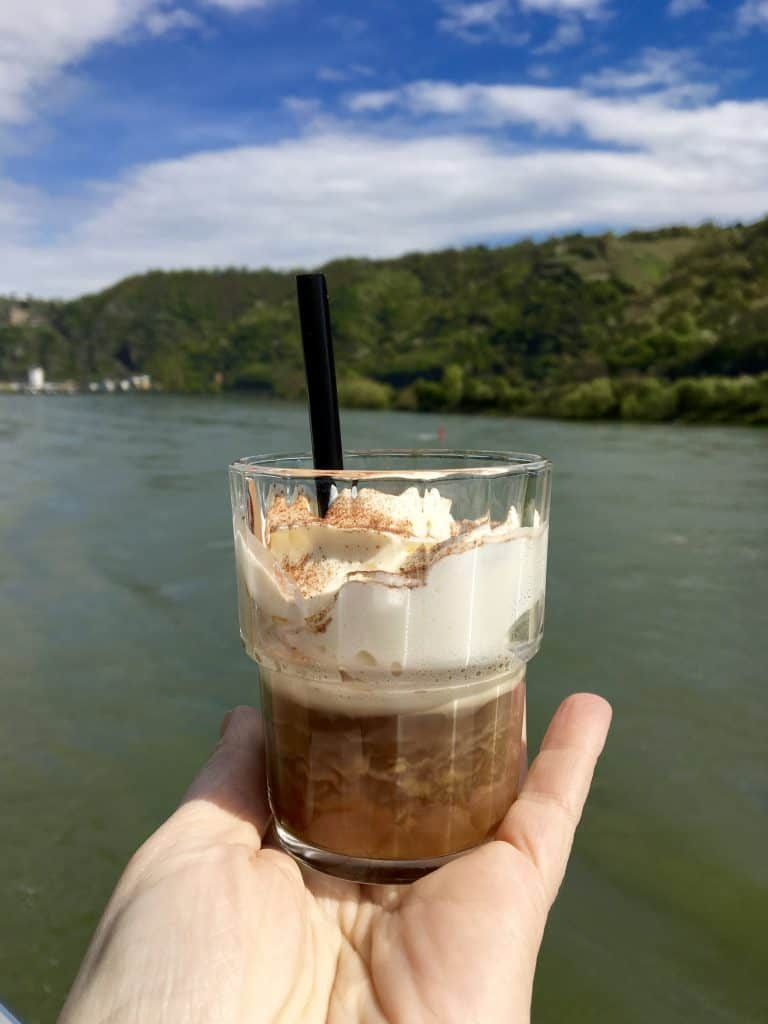 Rüdesheim coffee on the AmaCerto Enchanting Rhine River cruise