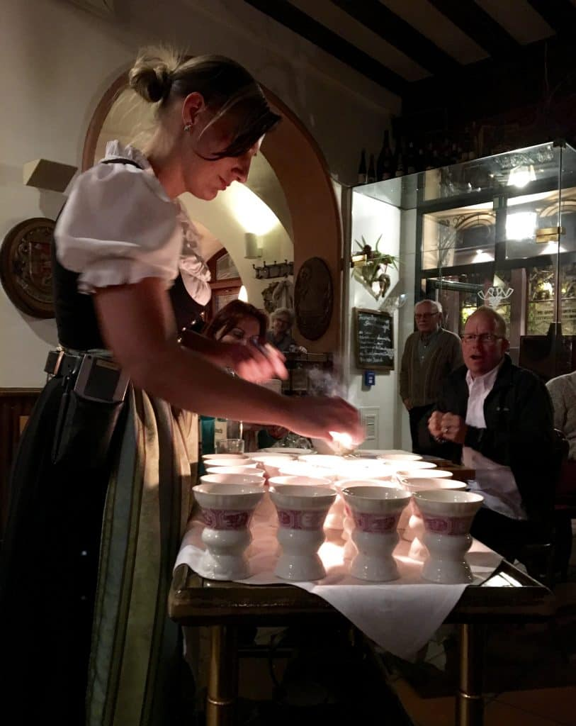 Making authentic Rüdesheim Coffee