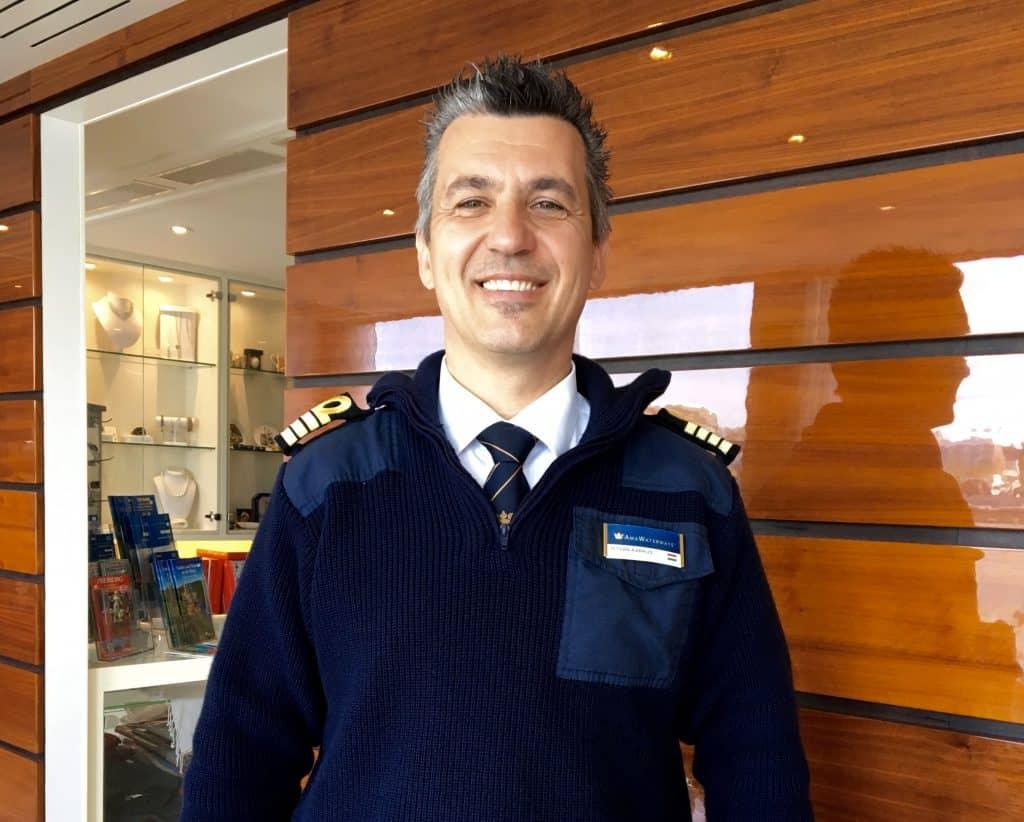 Captain Istvan on the AmaCerto