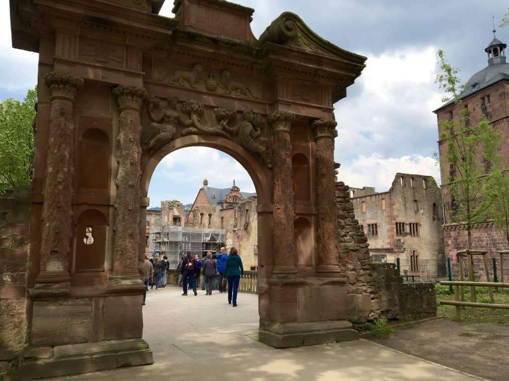 Heidelberg Castle archway