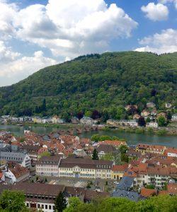 View of Heidelberg on an AmaWaterways excursion.