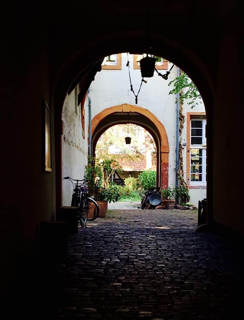 Archway in Heidelberg, Germany