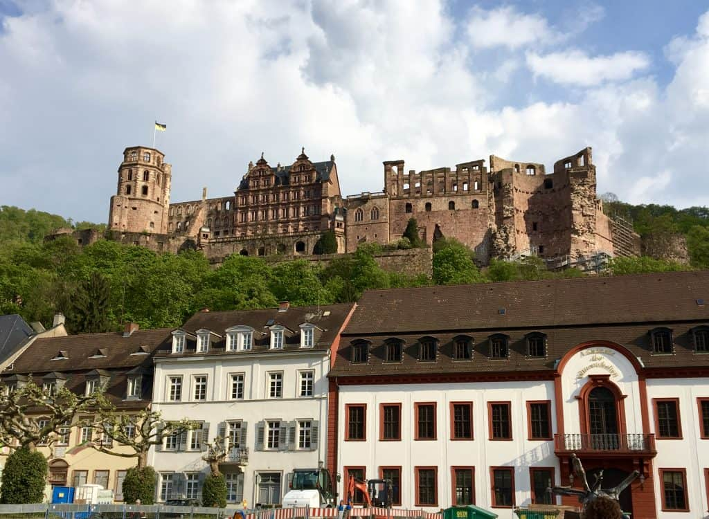View of the Heidelberg Castle, Germany