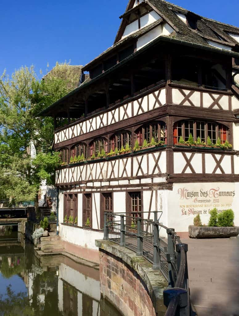 House of the Tanners in Strasbourg, France