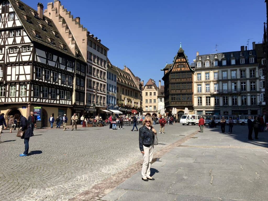 Square in front of the Strasbourg Cathedral