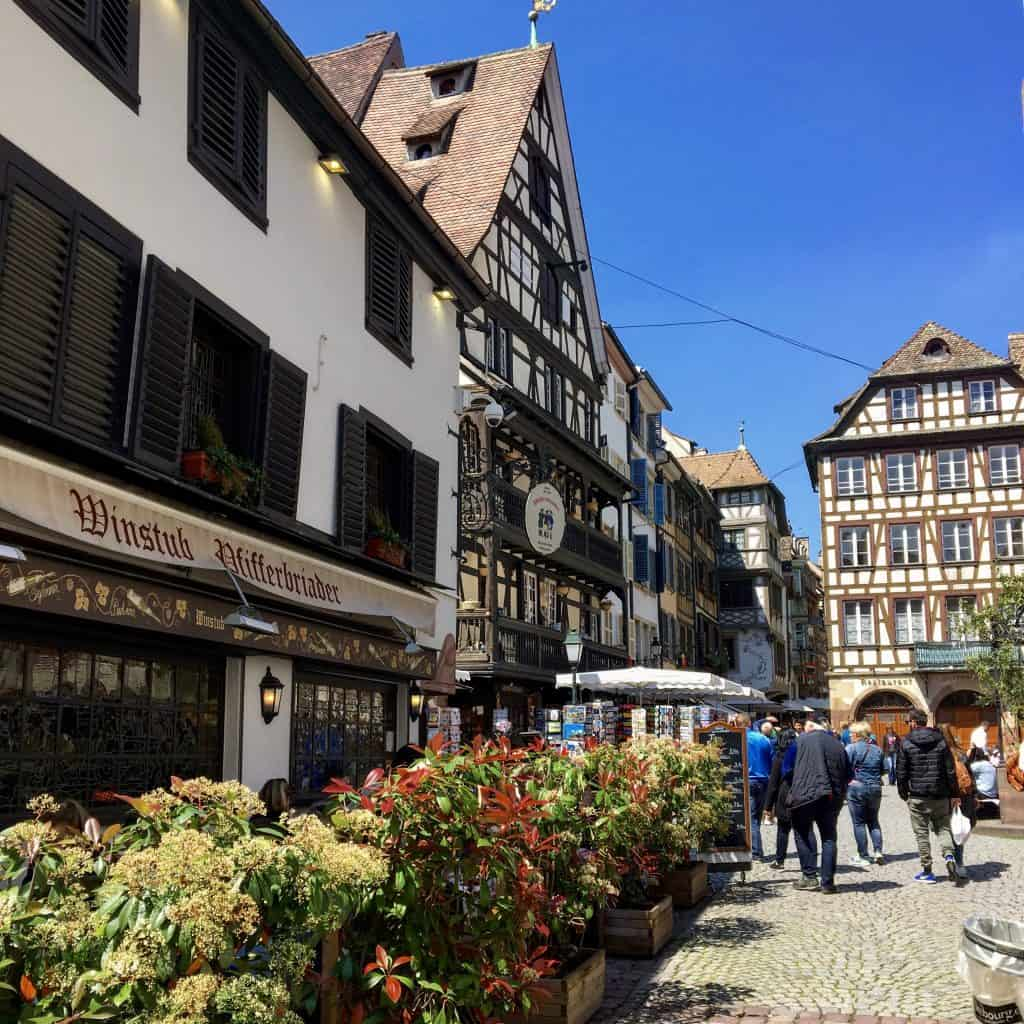 Weinstube in Strasbourg, France