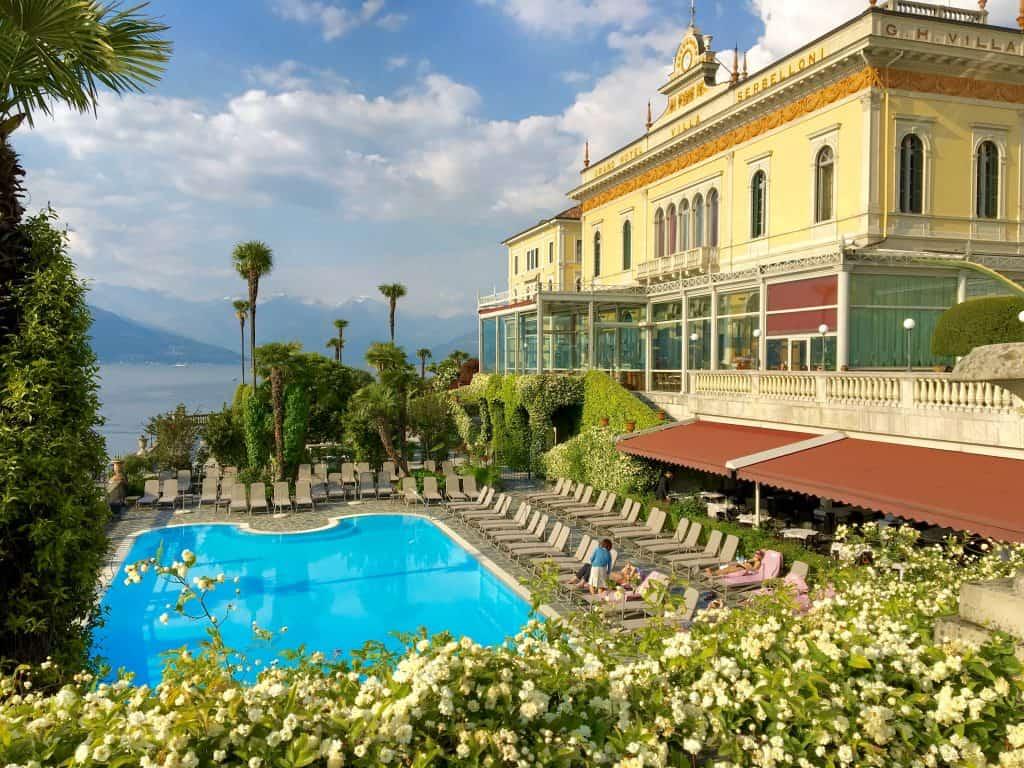 The elegant Grand Hotel Villa Serbelloni on Lake Como