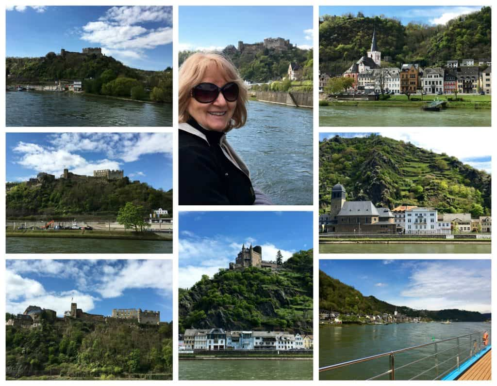 Cruising through the Rhine Gorge